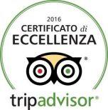 Tripadvisor - Certificato di eccellenza 2016